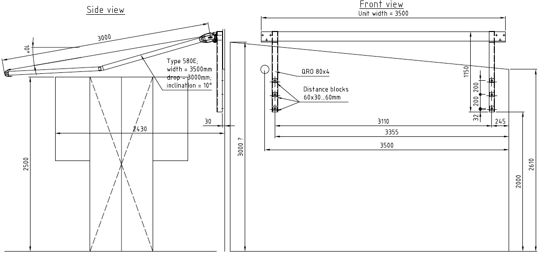 Patio Awning Design And Installation Corner Star