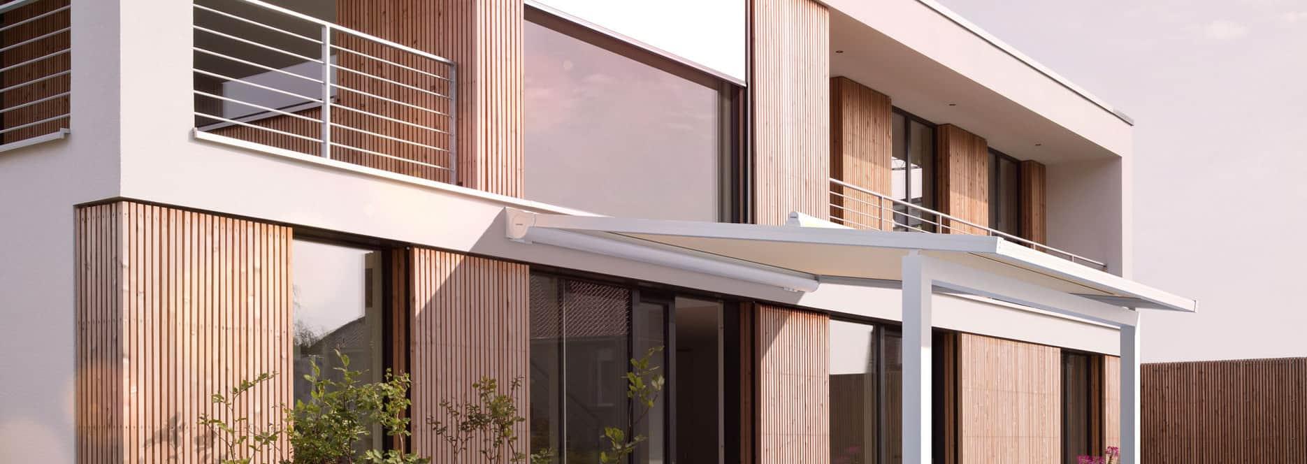 Warema P60 Roof Blind Pergola