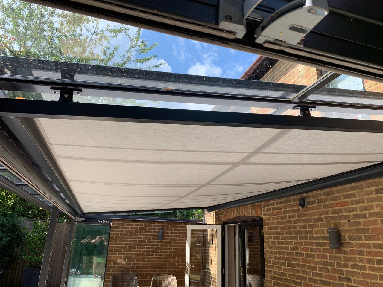 Warema UK W10 conservatory awning Surrey