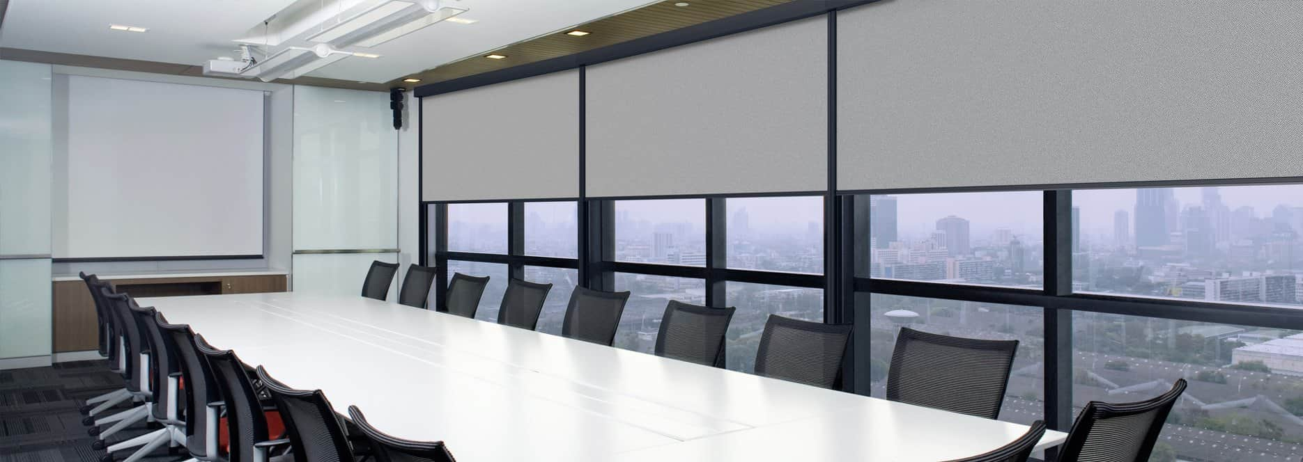 Warema Black-Out Blinds for offices laboratories