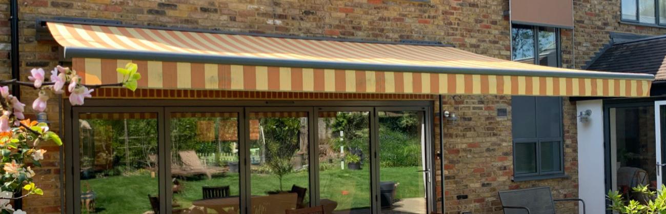 Warema UK H60 awning installation Buckinghamshire